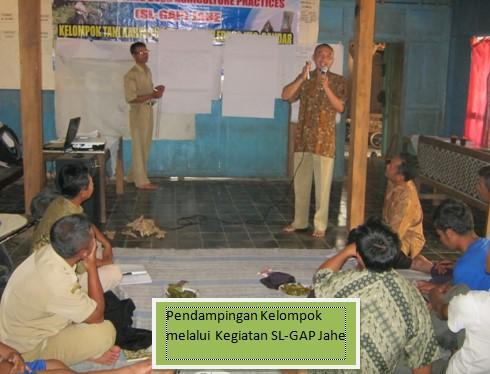 pendampingan SL GAP
