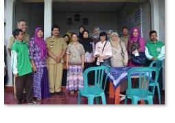 Bersama KWT (Kelompok Wanita Tani) Manunggal Desa Nawangan Kec.Nawangan
