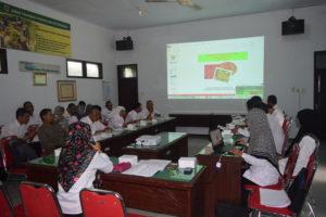 Pertemuan Sinkronisasi Data Hortikultura Kabupaten Pacitan Tahun 2016